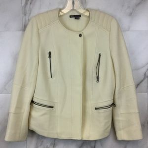 Vince Cream Wool Jacket- size 10